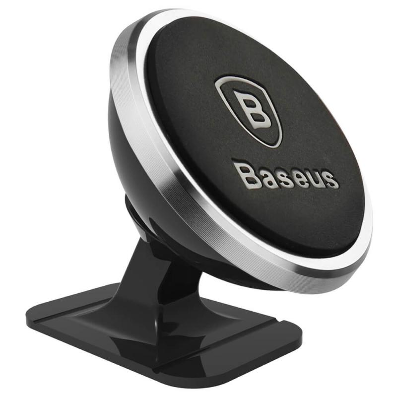 Nutitelefoni autohoidik Baseus 360 Silver