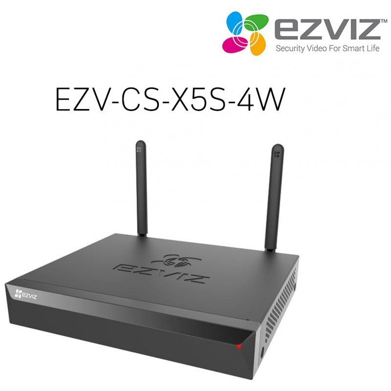 EZVIZ WiFi salvesti X5S kuni 4 kaamerat
