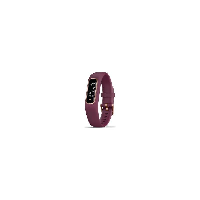 Garmin Vivosmart 4 roosa kuld/tumepunase rihmaga