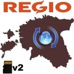 Regio Eesti teed v2 mälukaardi uuendus
