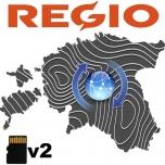 Regio Eesti TOPO v2 mälukaardi uuendus