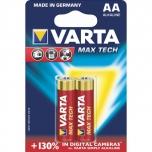 Patarei  AA LR6 Varta MaxTech 2tk/pakis
