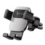 Autohoidik Baseus Cube Gravity Silver