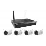 EZVIZ WiFi salvesti X5S + 4 kaamerat
