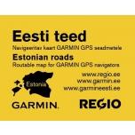 Kaart Regio Eesti teed Garminile uus