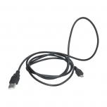 Laadimisjuhe microUSB-USB 1,5m must
