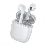 Kõrvaklapid+mikr. Baseus TWS W04Pro White